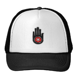 Hand with a Pentacle Trucker Hat