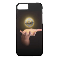 Hand With Cryptocurrency Hologram iPhone 8/7 Case