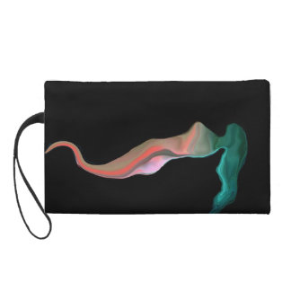 hand with form wristlet purse