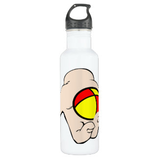 Hand With Juggling Ball 24oz Water Bottle