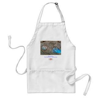 Hand with Lotus/Apron Adult Apron
