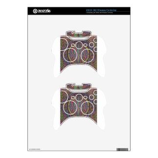 Hand Woven Design Xbox 360 Controller Skin