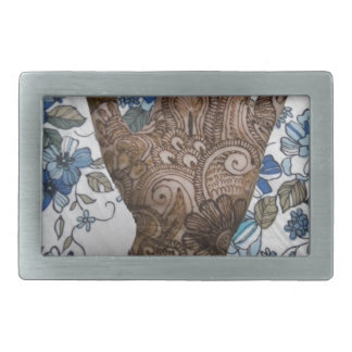 HAND - WOWCOCO RECTANGULAR BELT BUCKLE