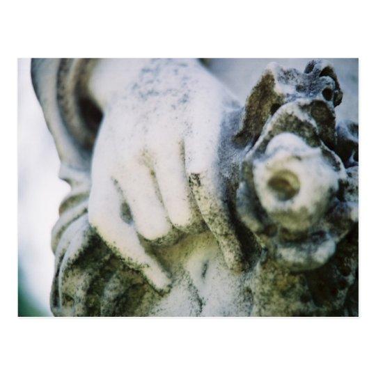 Hand & Wreath Postcard