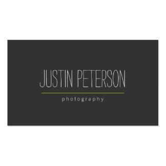 Hand-Written Text II Photographer's Business Card