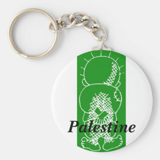 handalah de Palestina Llavero Redondo Tipo Pin