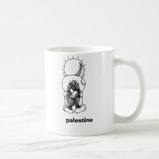 handalah, Palestina Taza Básica Blanca