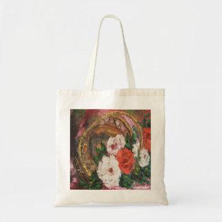 Handbag Ann Hayes Painting Flower Basket
