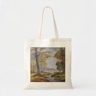 Handbag Ann Hayes Painting Forest Stream