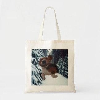 Handbag Basset Hound Ear Scarf Budget Tote Bag