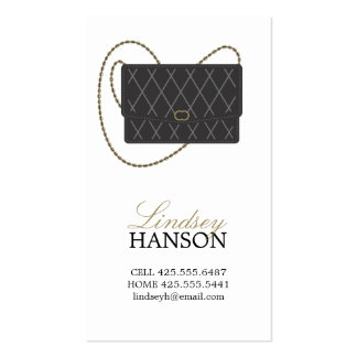 Handbag Calling Card Business Card