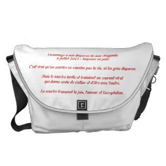 Handbag Lake-Mégantic 1 Messenger Bag