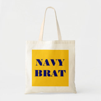 Handbag Navy Brat Tote Bag