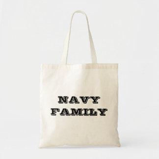 Handbag Navy Family Tote Bag