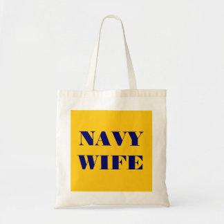 Handbag Navy Wife Tote Bag