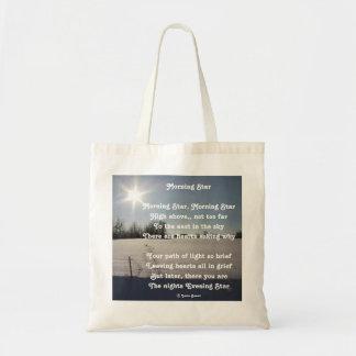 Handbag Poem Morning Star By Ladee Basset