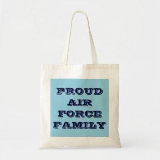 Handbag Proud Air Force Family Tote Bag