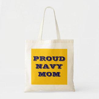 Handbag Proud Navy Mom