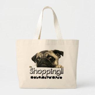 Handbag Pug Girls Ecofriendly fashion bag Summer