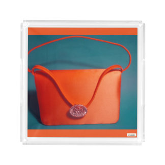 Handbag Square Serving Trays