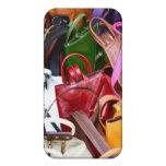 Handbags in beautiful colours iPhone 4 Case