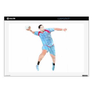 "HANDBALL 001.jpg Decals For 17"" Laptops"