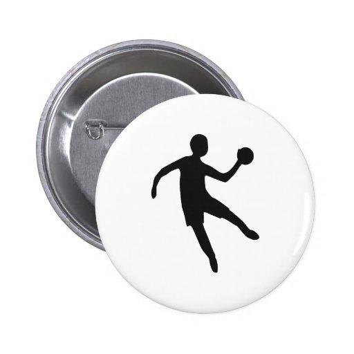 Handball 2 Inch Round Button