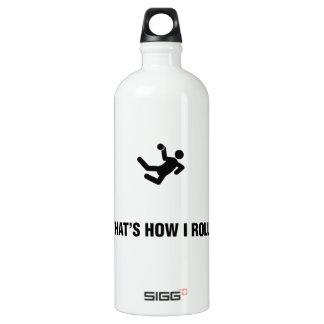 Handball Aluminum Water Bottle