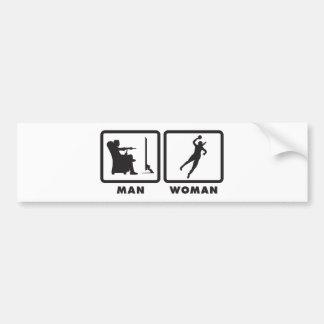 Handball Bumper Sticker