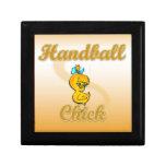 Handball Chick Trinket Box