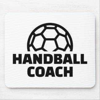 Handball coach mouse pad