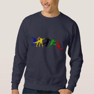 Handball coaches and teams sweatshirts