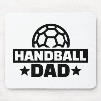 Handball dad mouse pad