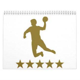 Handball Dodgeball Calendar