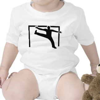 Handball goalkeeper baby creeper
