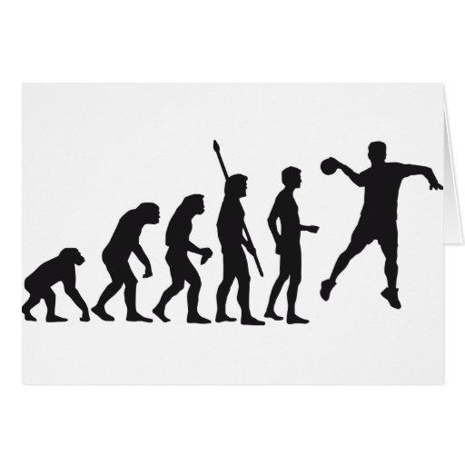 handball grußkarte