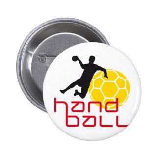 Handball I 3c Pinback Button