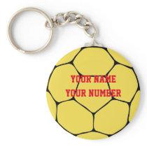 Handball Keychain Sport ID Tag Custom YOUR NAME