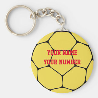 Handball Keychain Sport ID Tag Custom YOUR NAME
