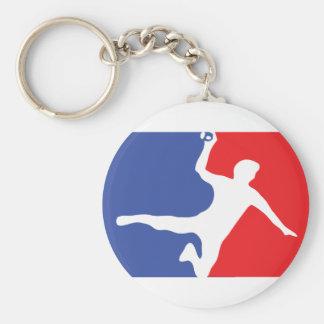 Handball Legend icon Basic Round Button Keychain