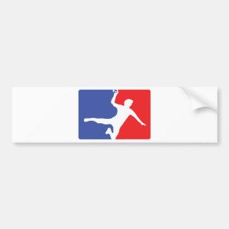 Handball Legend icon Bumper Sticker
