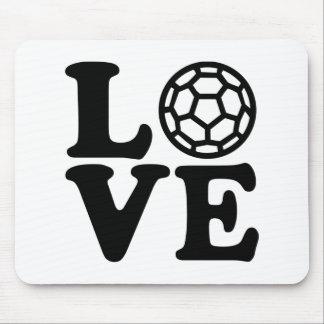 Handball love mouse pad