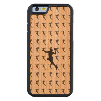 Handball Player Carved Cherry iPhone 6 Bumper Case