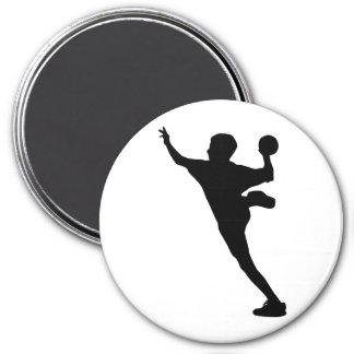 handball player magnet