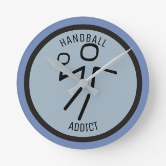 HANDBALL PLAYER ROUND CLOCK