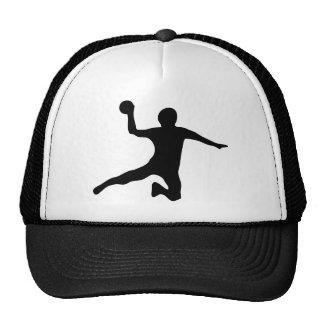 handball spieler dodgeball trucker hat