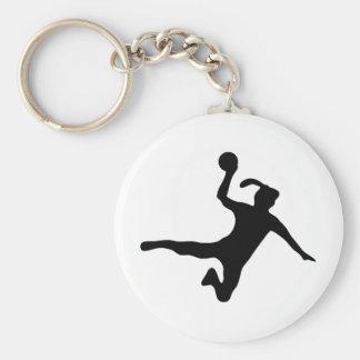 handball spielerin frauenhandball keychain