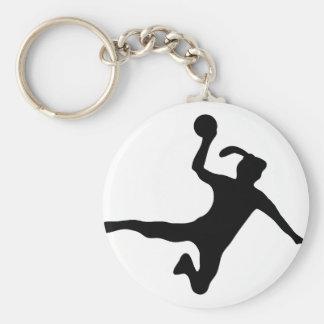 handball spielerin frauenhandball key chains