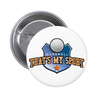 Handball - that's my sport button