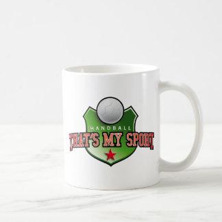 Handball - that's my sport coffee mug
